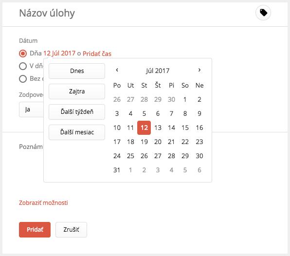 Zobraziť online dátumu lokalít